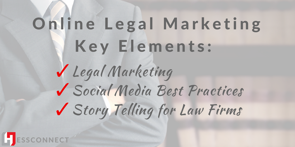 Online legal marketing: key elements
